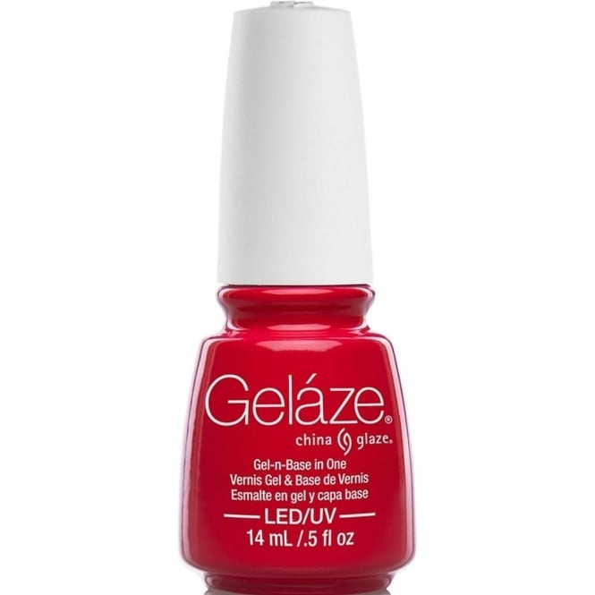 China Glaze Gel Polish China Glaze Lite Brites 2016 Gel Nail Lacquer Collection - Hot Flash 14ML
