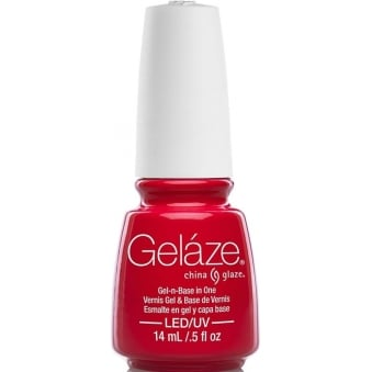 China Glaze Lite Brites 2016 Gel Nail Lacquer Collection - Hot Flash 14ML