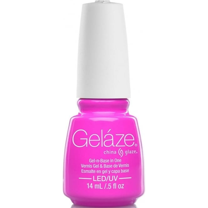 China Glaze Gel Polish China Glaze Lite Brites 2016 Gel Nail Lacquer Collection - Pink To That 14ML