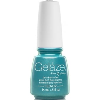 China Glaze Lite Brites 2016 Gel Nail Lacquer Collection - What I Like About Blue 14ML