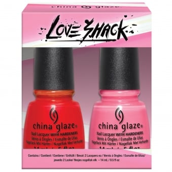 Lite Brites 2016 Nail Polish Summer Collection - Love Shack Duo (2 X 14ML) (83554)