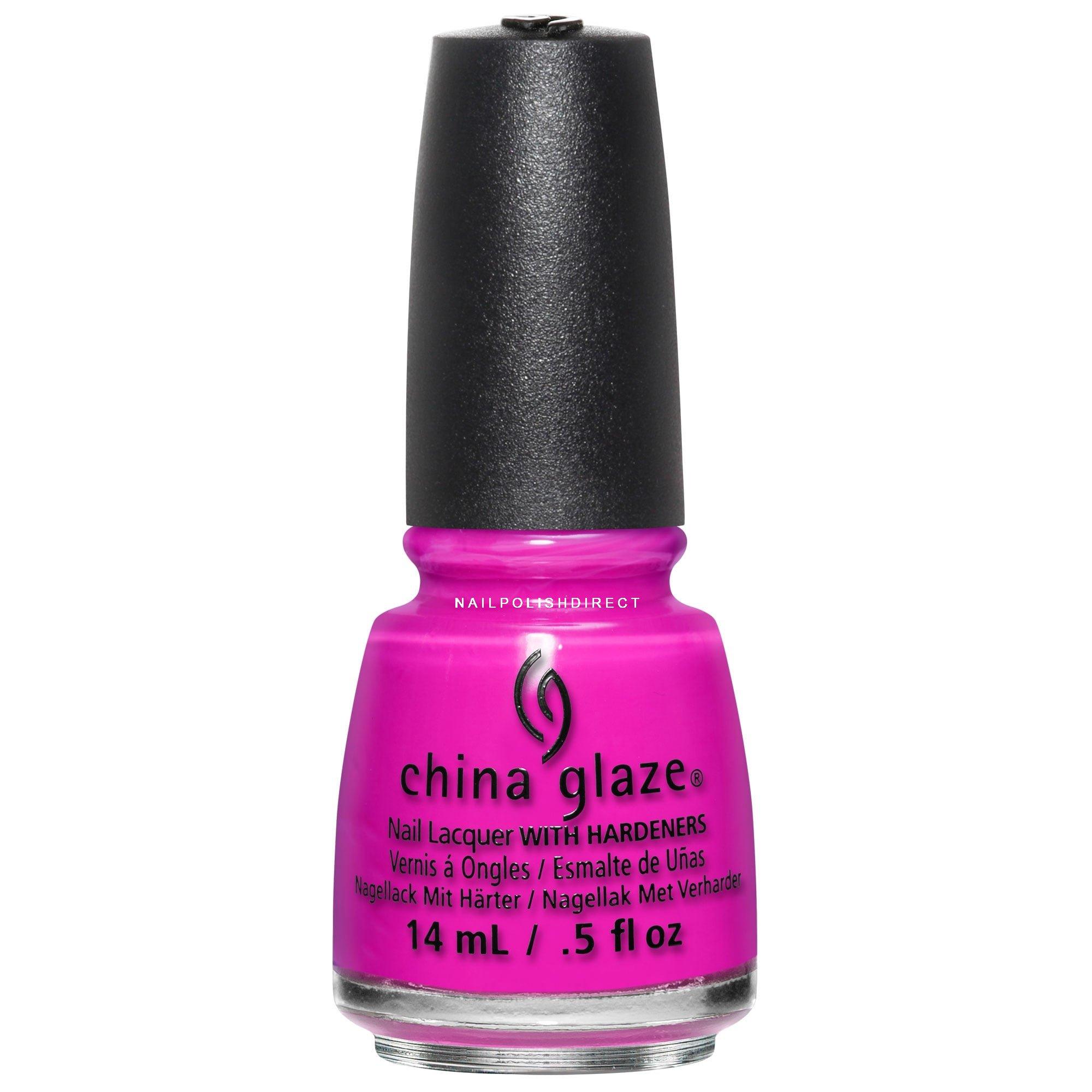 China Glaze Red Nail Polish: China Glaze Lite Brites 2016 Nail Polish Summer I'llPink