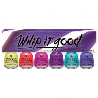 Lite Brites 2016 Nail Polish Summer Mini Collection - Whip It Good 6 Piece (6x 3.75mL) (83557)