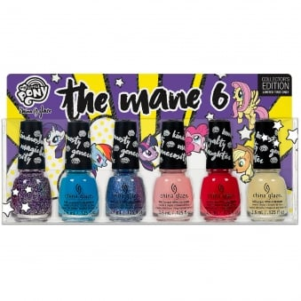 My Little Pony 2017 Nail Polish Collection - The Mane 6 Set (212672)