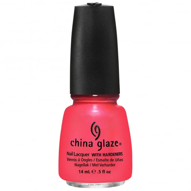 China Glaze Nail Lacquer - Summer Neons Collection 2012 - Flirty Tankini 15ml (80447)
