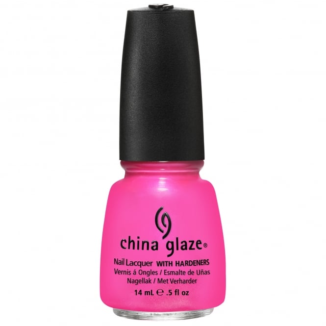 China Glaze Nail Lacquer - Summer Neons Collection 2012 - Hang-Ten Toes (15ml) (80438)