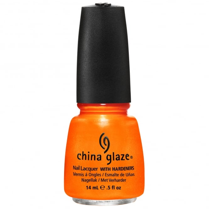 China Glaze Nail Lacquer - Summer Neons Collection 2012 - Orange You Hot? (15ml) (80445)