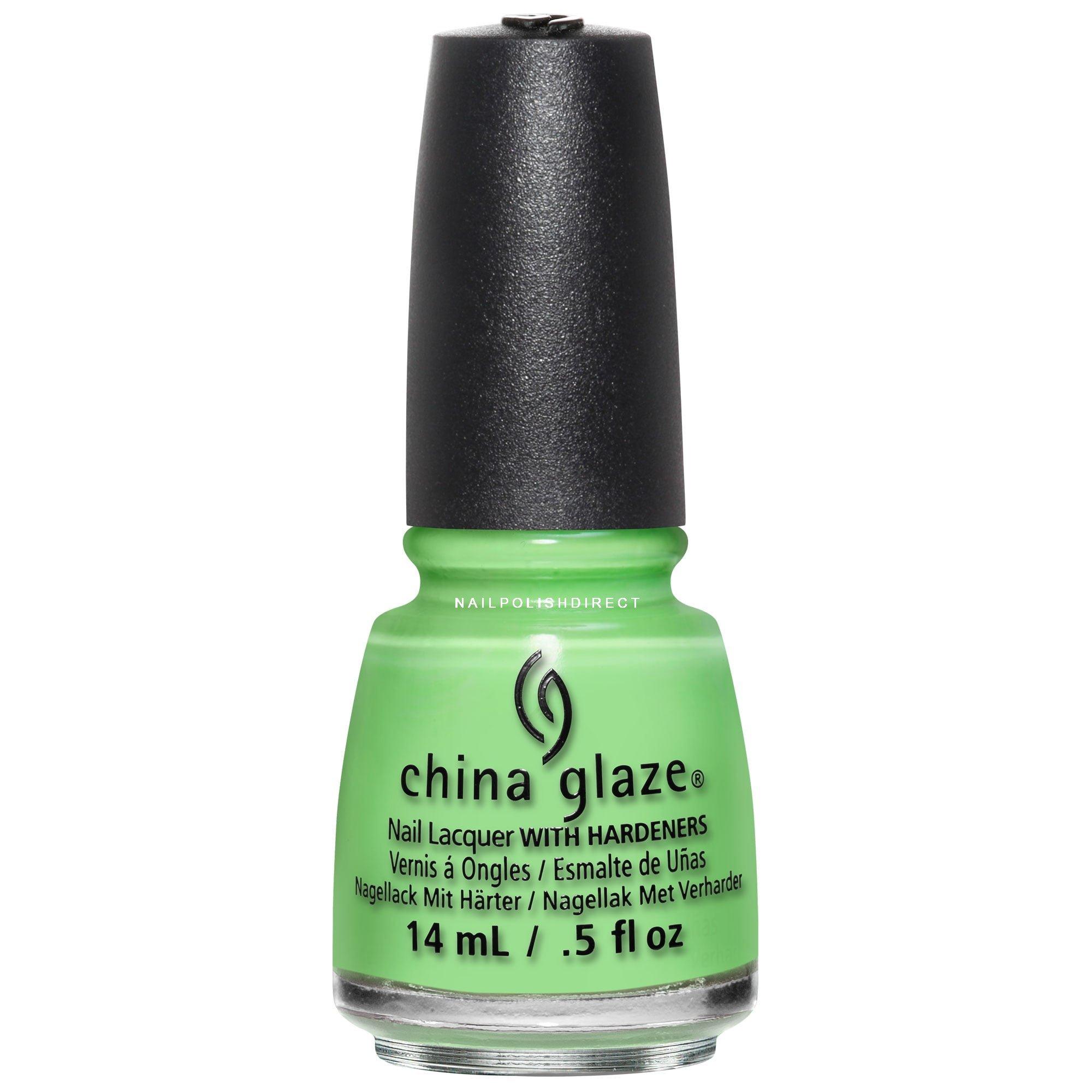 China Glaze Lite Brites 2016 Nail Polish Summer Lime After Lime