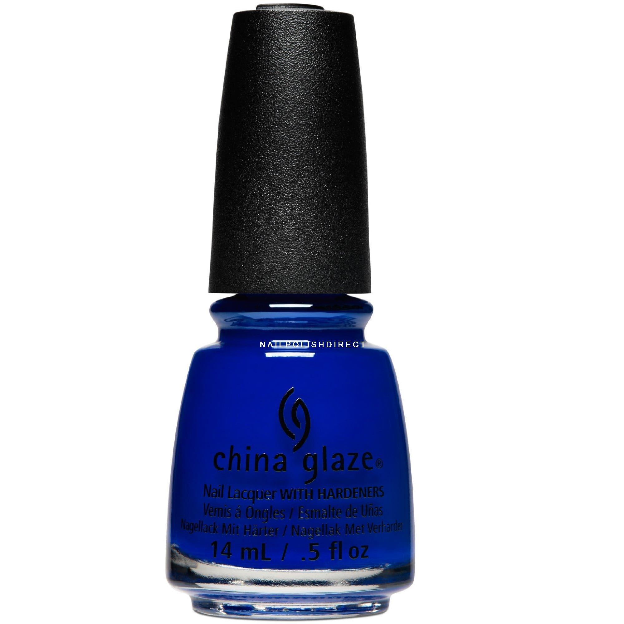 Blue Nail Varnish Uk: China Glaze Summer Reign Collection
