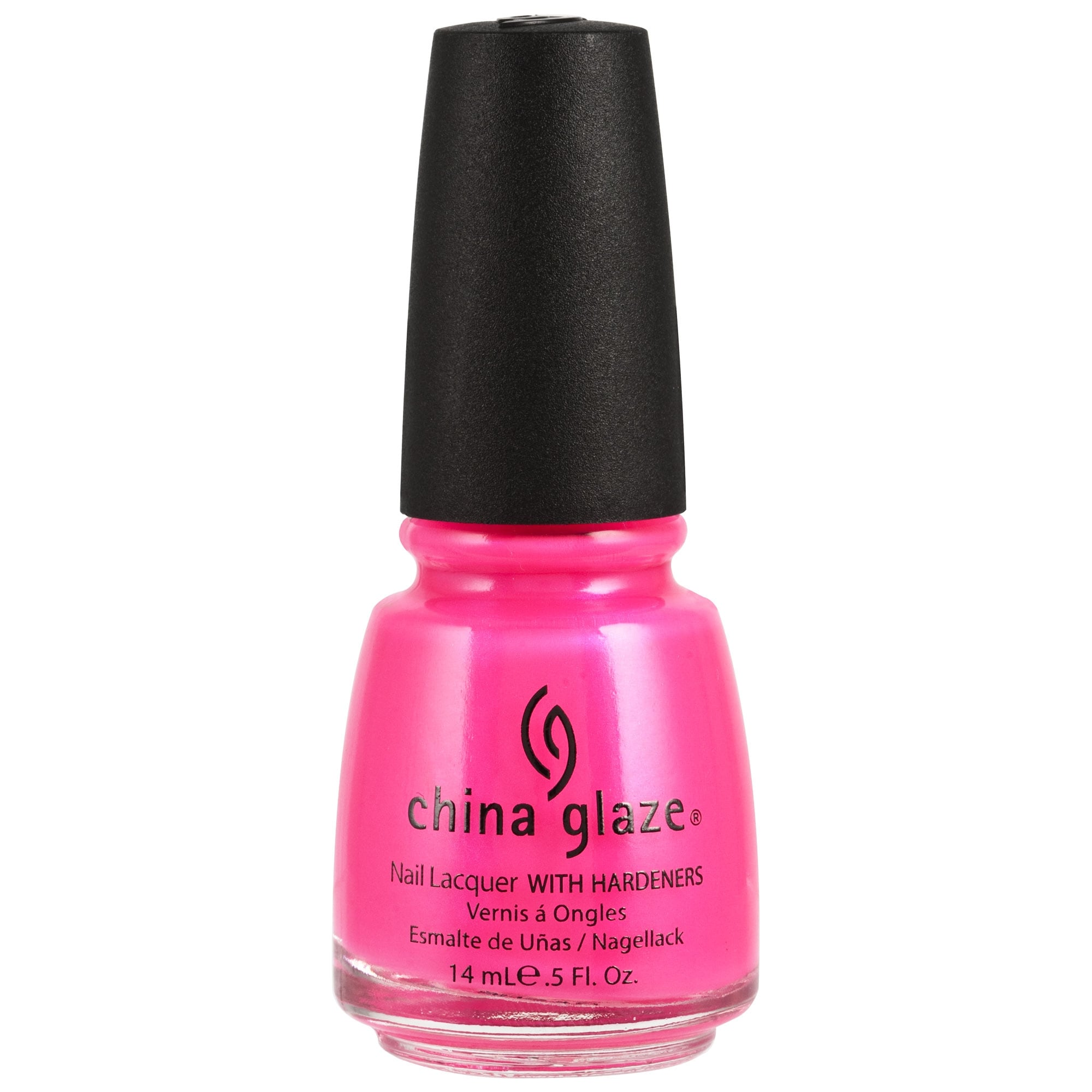 China Glaze Nail Polish - Neon Pink Voltage 14ml (70291)