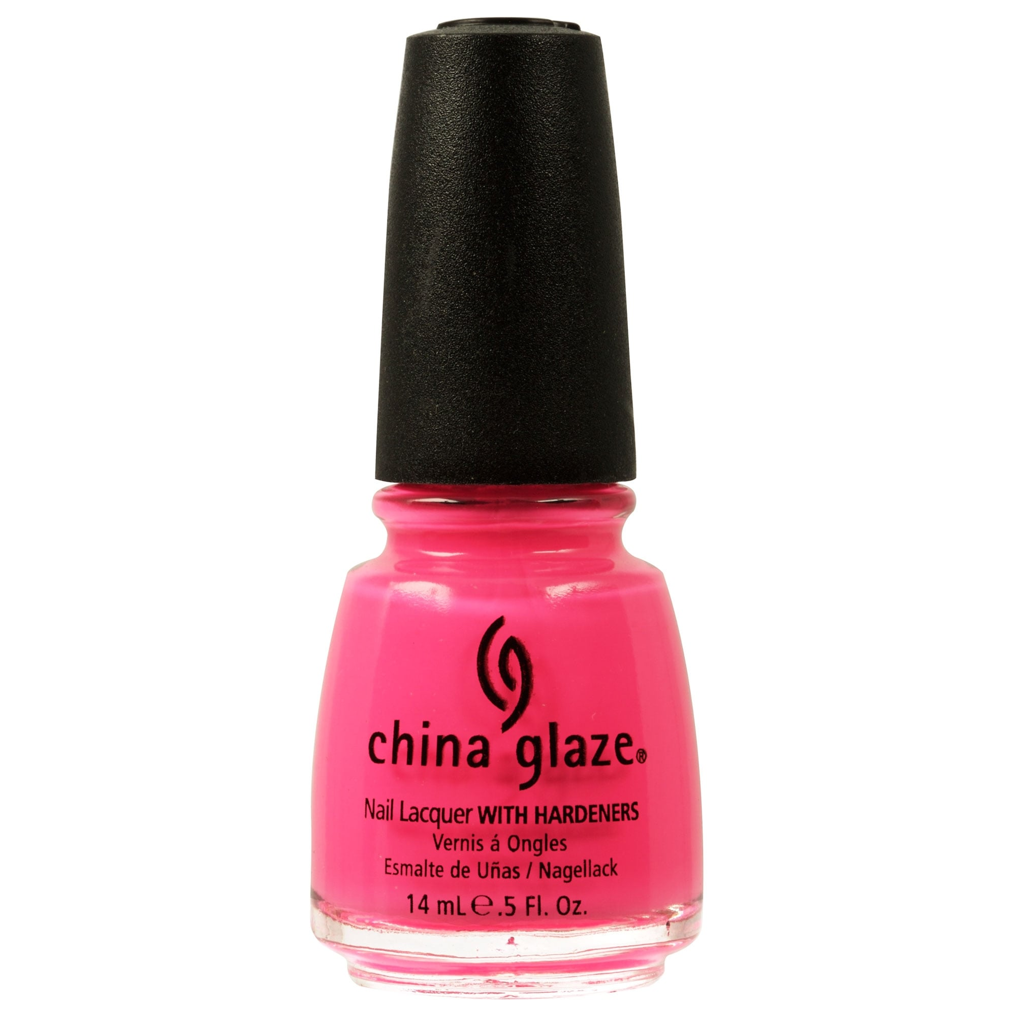 China Glaze Nail Polish - Neon Shocking Pink 14ml