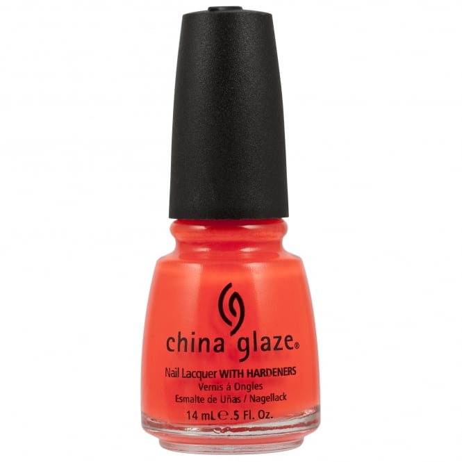 China Glaze Nail Polish - Orange Knockout 14ml (70641)