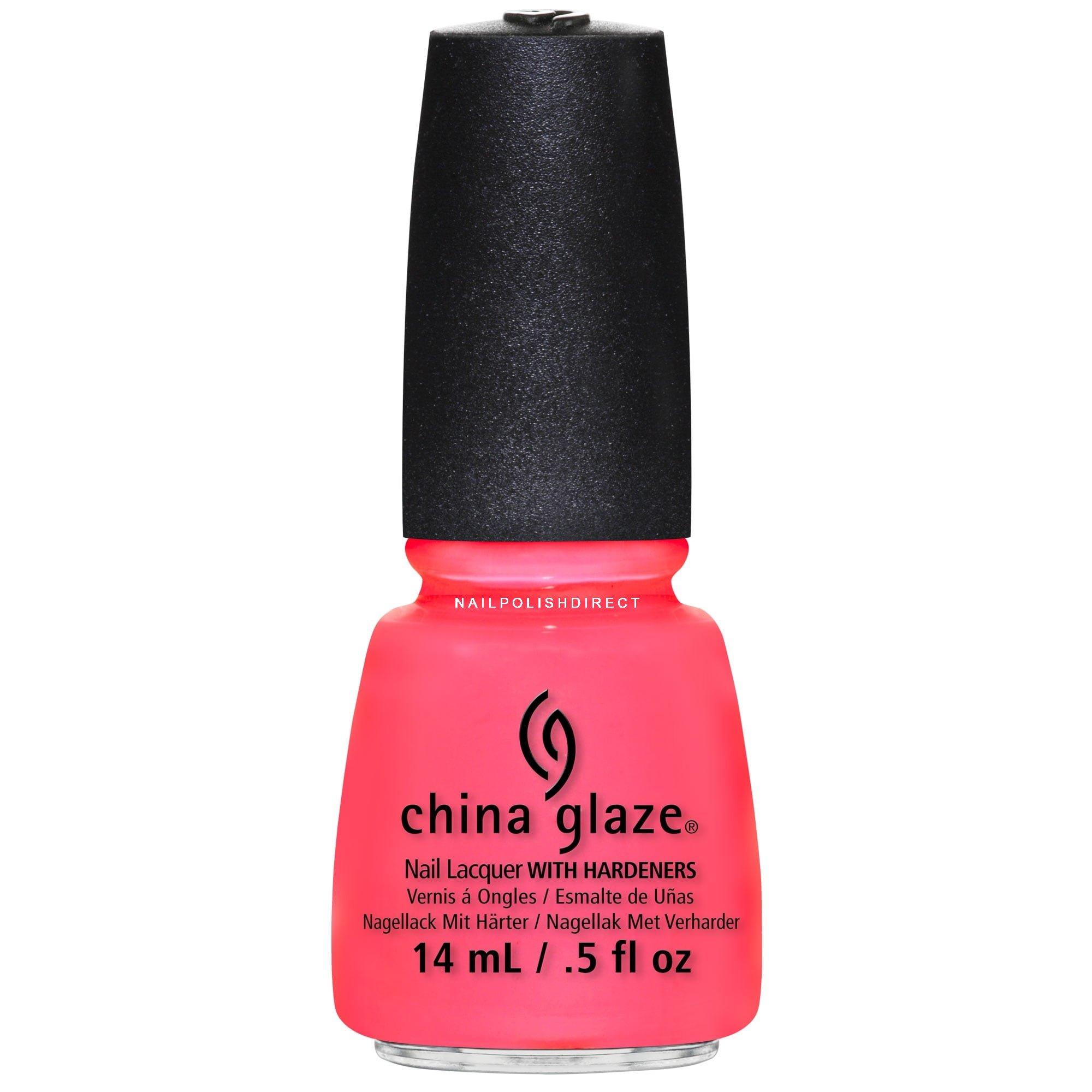 Neon Nail Polish Uk: China Glaze On The Shore Collection