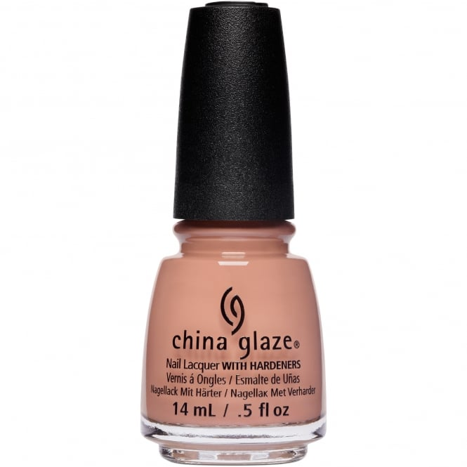 China Glaze Nudes Spring 2017 Nail Polish Collection - A Whole Latte Fun (83970) 14ml