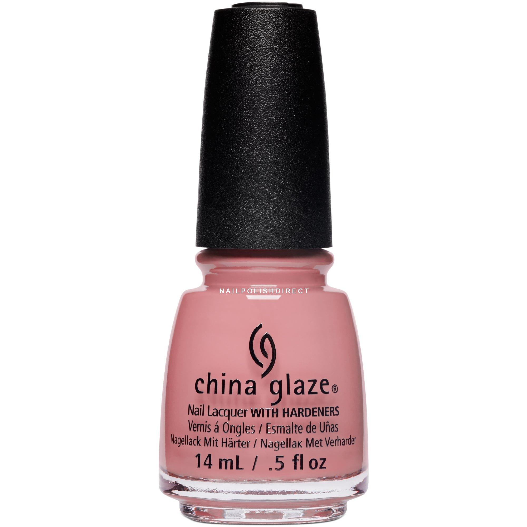 China Glaze Nudes Spring Nail Polish Collection - Don\'t Make Me Blush