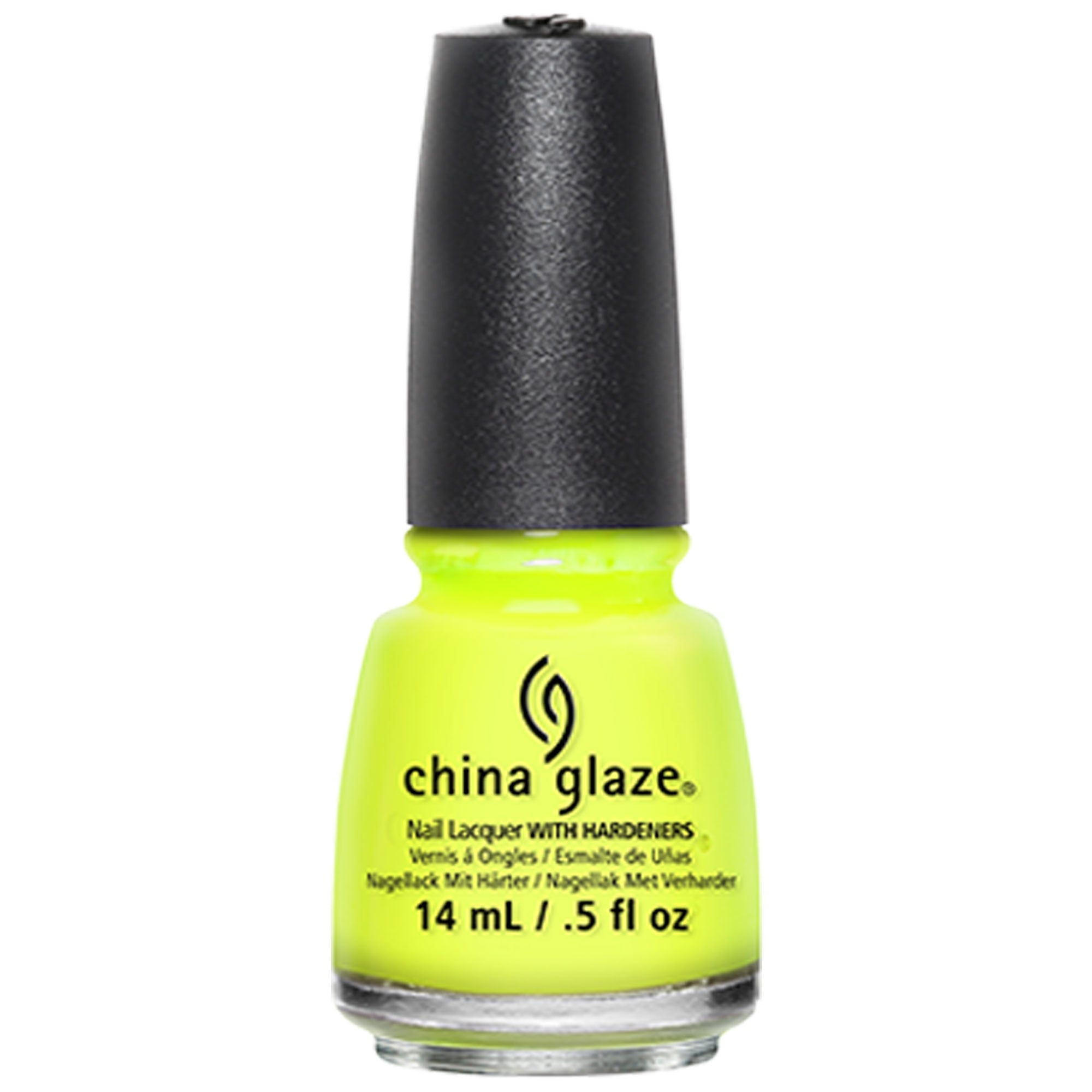 China Glaze Poolside Polish Collection 2010 Yellow Polka
