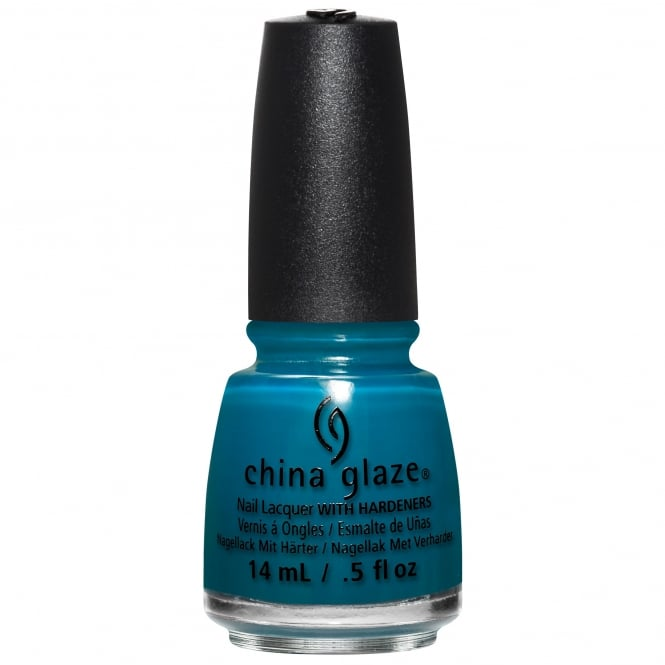 China Glaze Rebel Nail Polish Collection 2016 - Jagged Little Teal 14ml (83611)