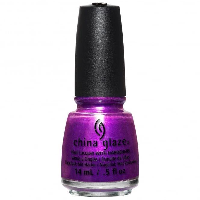 China Glaze Rebel Nail Polish Collection 2016 - Purple Fiction 14ml (83615)