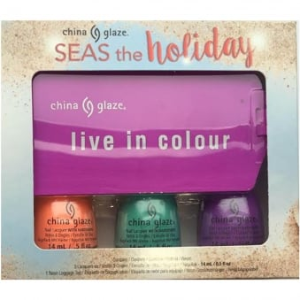 Seas And Greetings Holiday Nail Polish Collection 2016 - Seas The Holiday Trio (3 X 14ml)