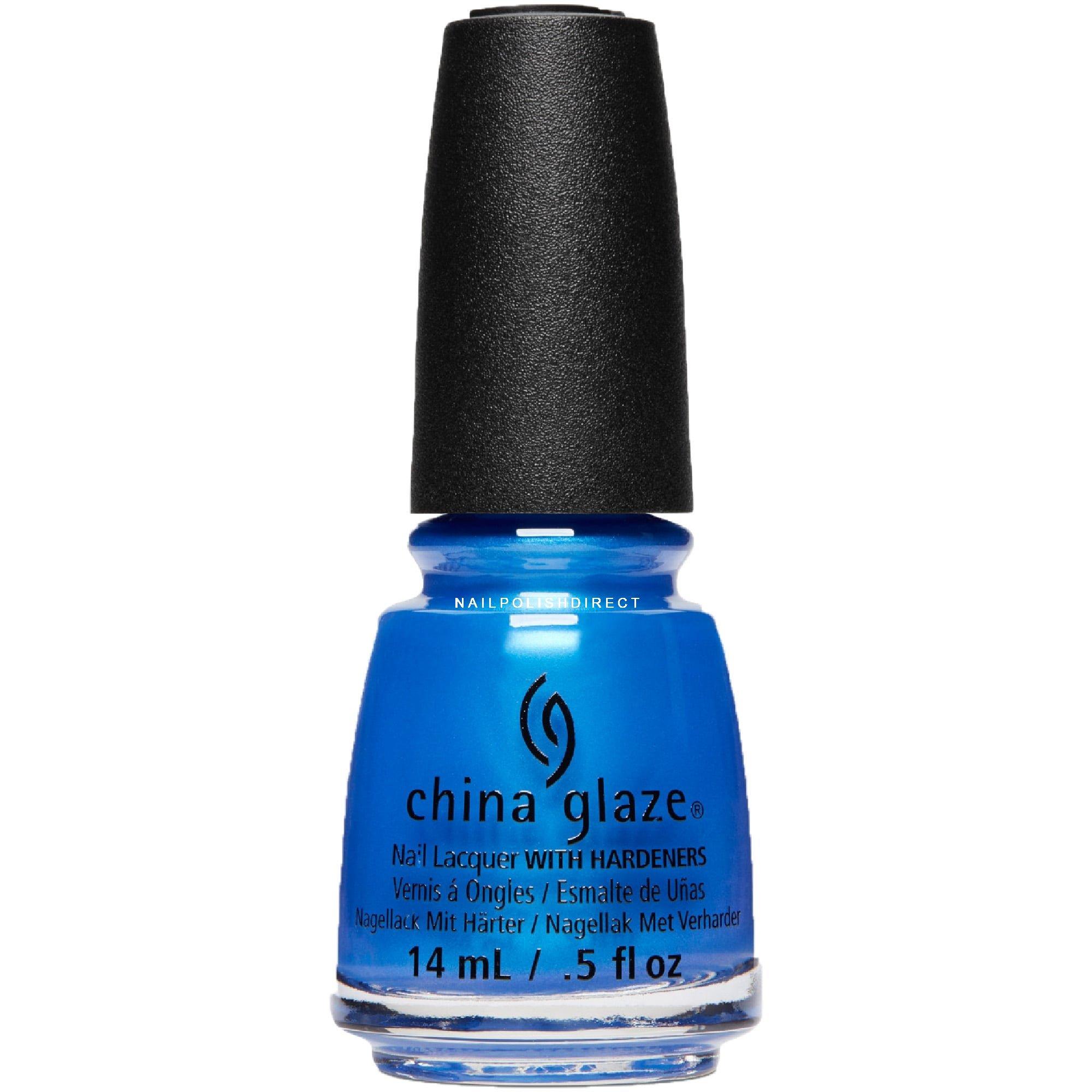 Blue Nail Varnish Uk: China Glaze Spring Fling 2017