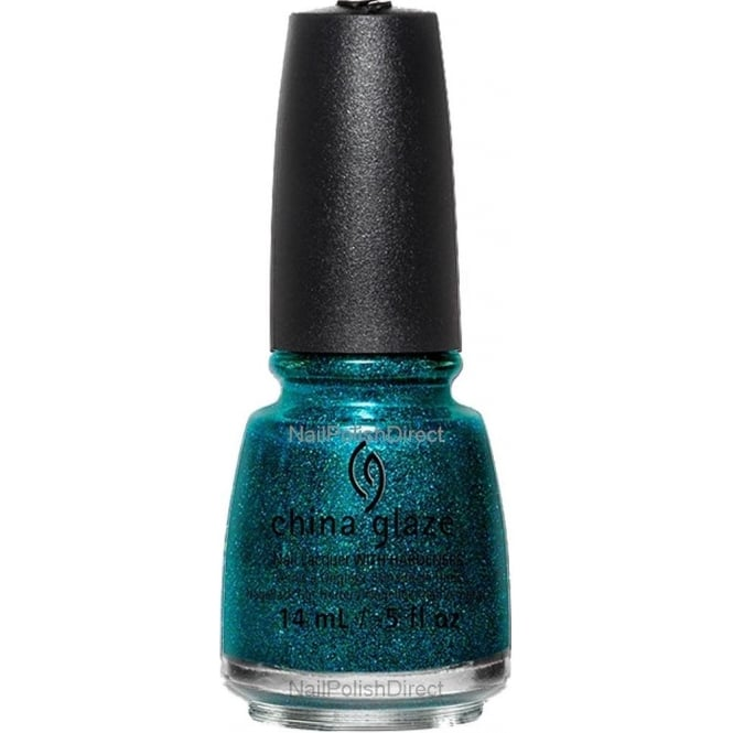 China Glaze Star Hopping 2015 Nail Polish Winter Collection - Give Me The Green Light 14mL (82702)