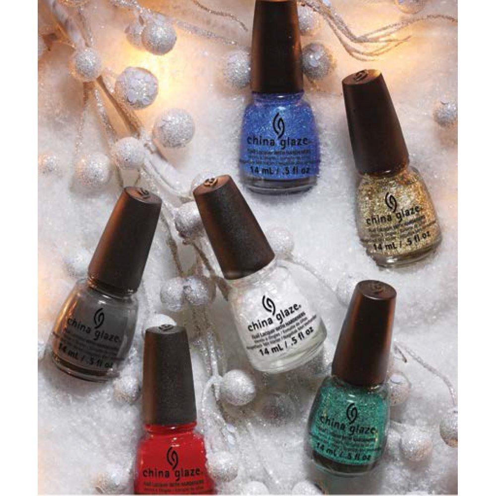 China Glaze Twinkle Holiday 2014 Nail Polish Collection forecasting
