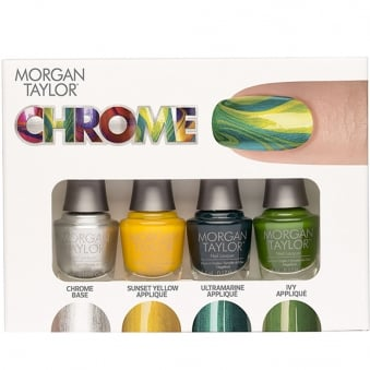 Chrome Mini Nail Polish Pack (4 x 5ml)