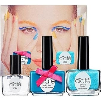 Corrupted Neon Manicure Trio Set - Foam Party