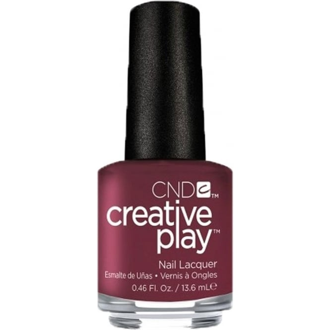 CND Creative Play Nail Lacquer - Currantly Single (416) 13.6ml