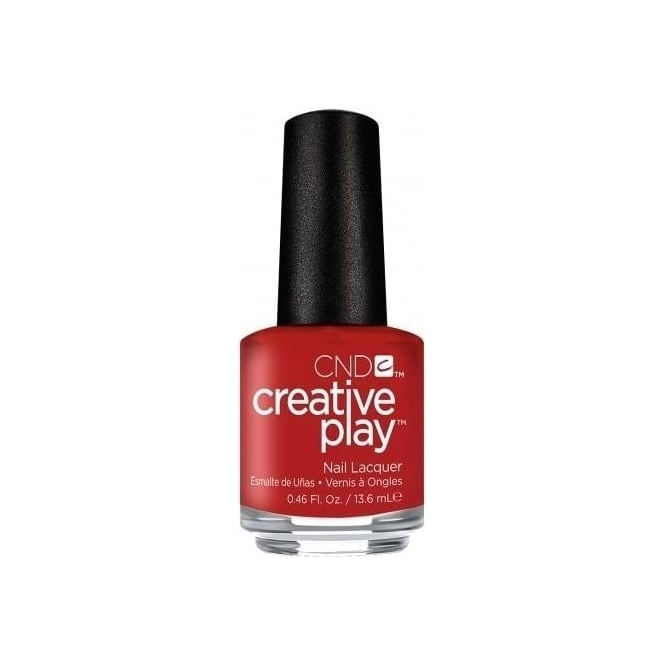 CND Creative Play Nail Lacquer - Red-y To Roll [412] 13.6ml