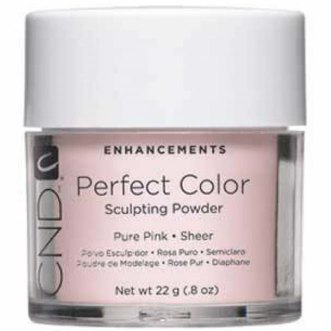 CND Shellac Enhancements Perfect Color Sculpting Powder - Pure Pink 22g