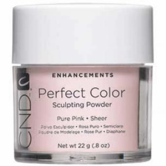 Enhancements Perfect Color Sculpting Powder - Pure Pink 22g
