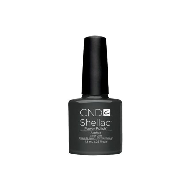 CND Shellac Power Nail Polish - Asphalt (7.3ml)