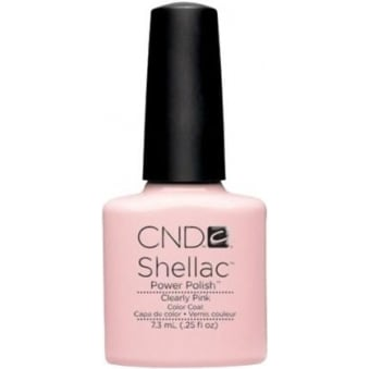 Power Nail Polish - Clearly Pink (7.3ml)