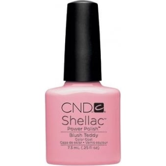 Power Nail Polish Color Coat - Blush Teddy (7.3ml)