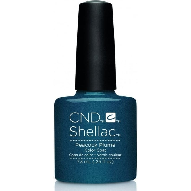 CND Shellac Power Nail Polish - Contradictions Collection - Peacock Plume (7.3ml)
