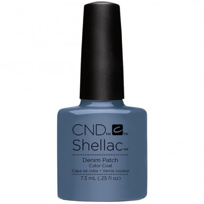 CND Shellac Power Nail Polish - Denim Patch 7.3ml
