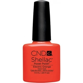 Power Nail Polish - Electric Orange (7.3ml)