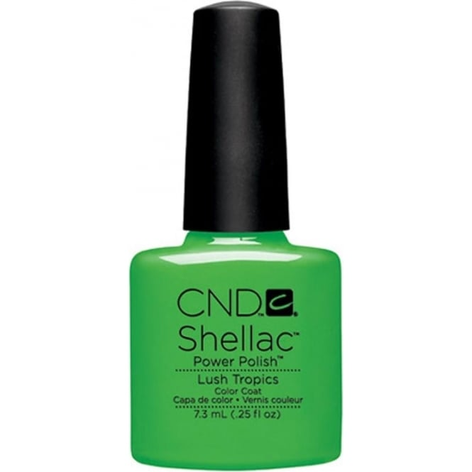 CND Shellac Power Nail Polish - Lush Tropics (7.3ml)