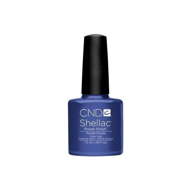 CND Shellac Power Nail Polish - Purple Purple (7.3ml)