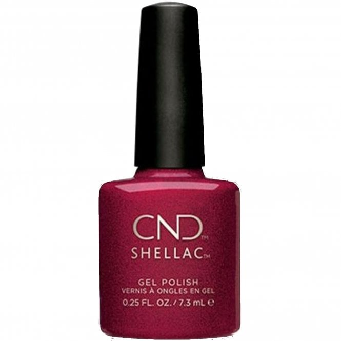 CND Shellac Power Nail Polish - Red Baroness (7.3ml)