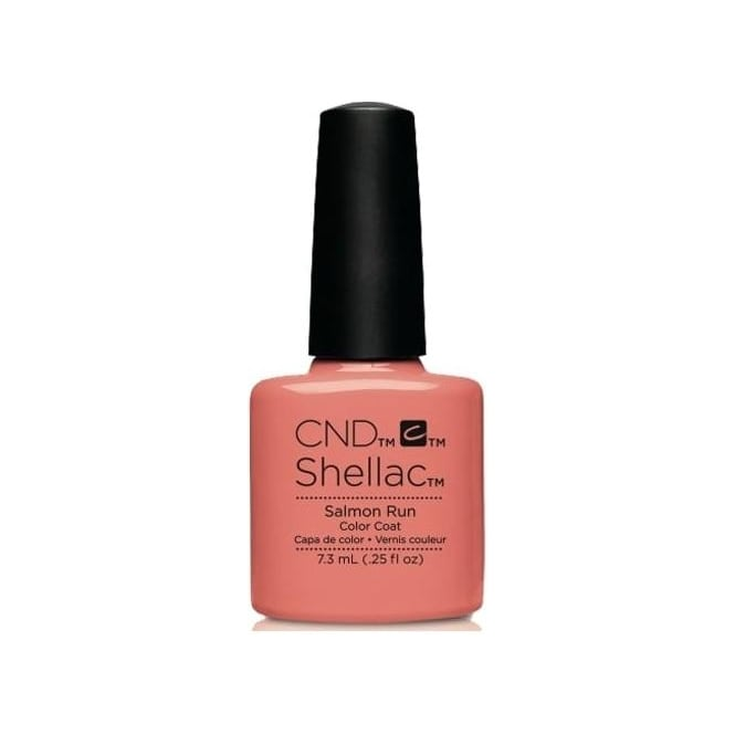 CND Shellac Power Nail Polish - Salmon Run (7.3ml)