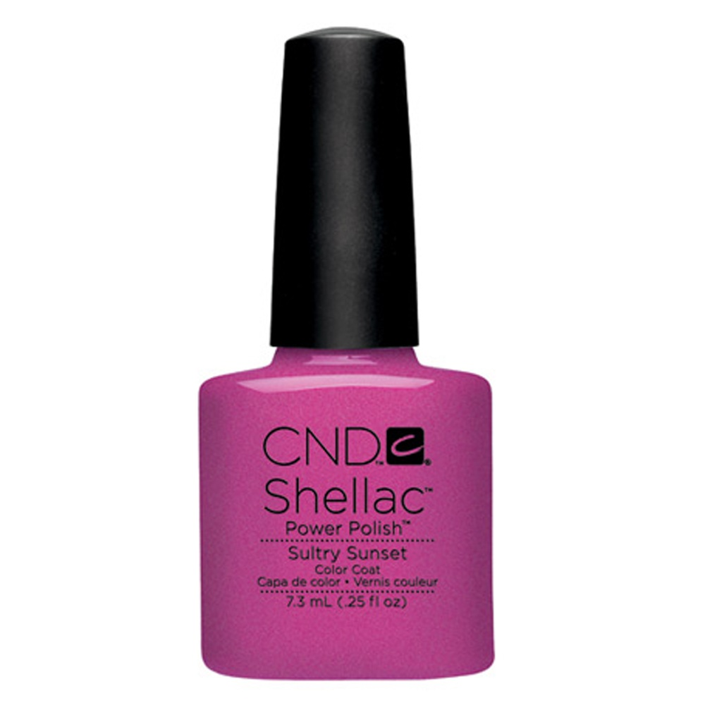 Powder pink nails pictures photos and images for facebook tumblr - Cnd Shellac Power Nail Polish Sultry Sunset 7 3ml Free