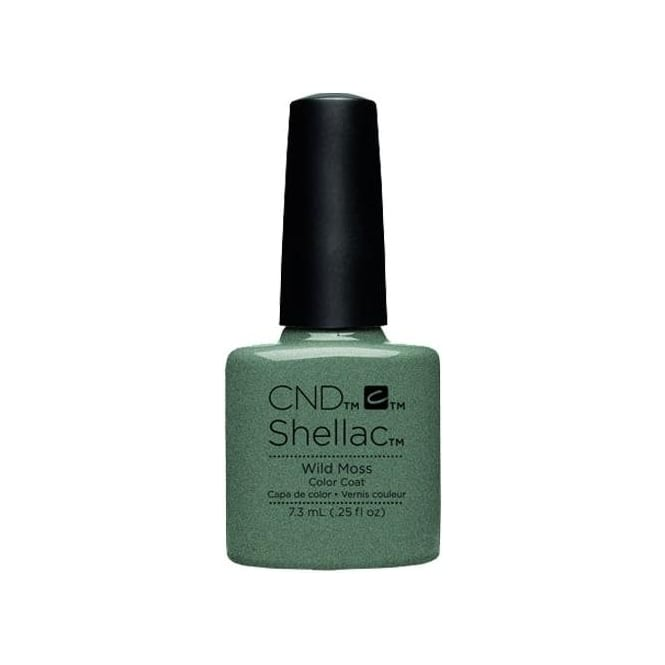 CND Shellac Power Nail Polish - Wild Moss (7.3ml)