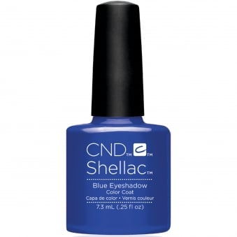 Shellac Wave 2017 Nail Polish Collection - Blue Eyeshadow 7.3ml
