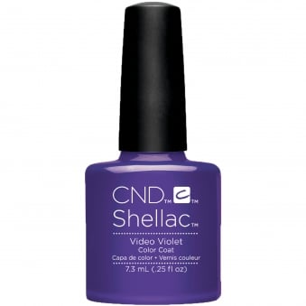 Shellac Wave 2017 Nail Polish Collection - Video Violet 7.3ml