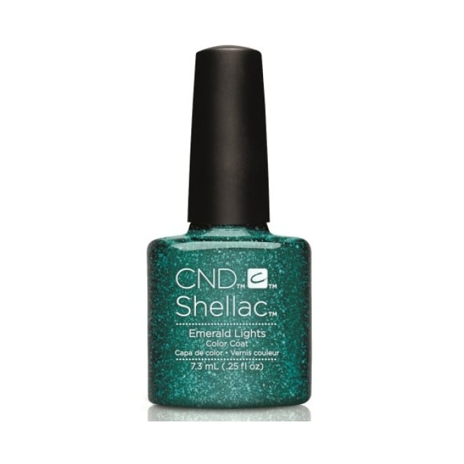 CND Shellac Starstruck 2016 Power Gel Polish Collection - Emerald Lights (7.3ml)
