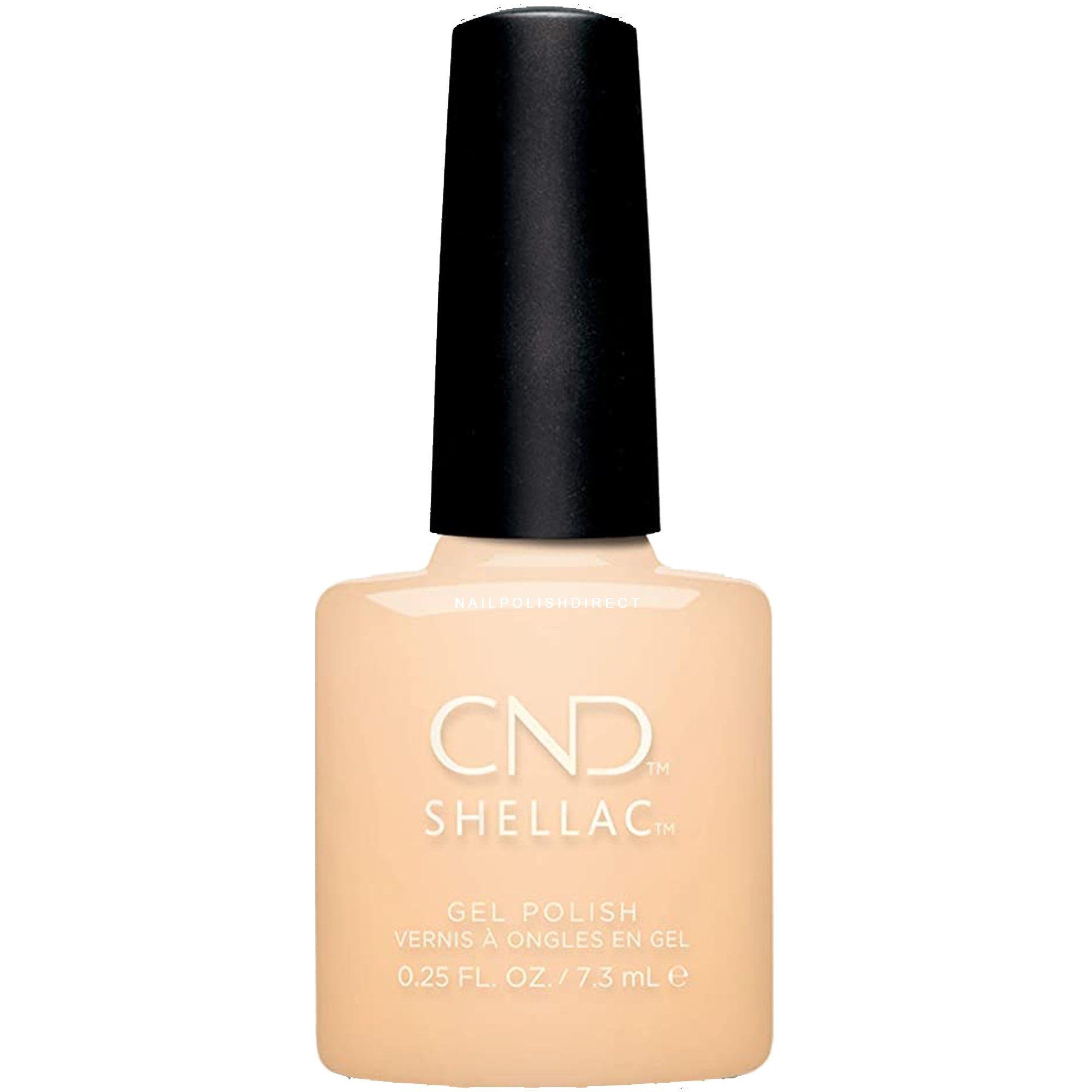 CND Shellac Power Polish Naked Naivete Color Coat .25 oz
