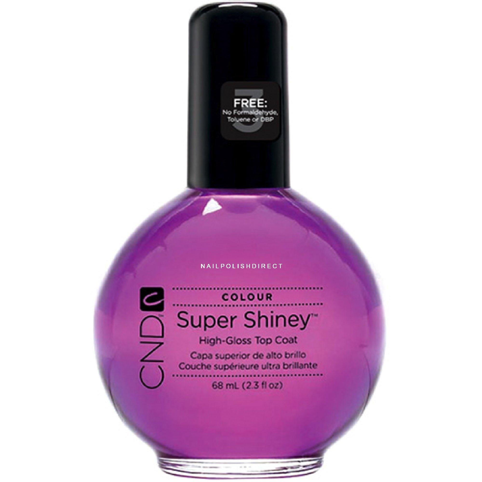 Cnd Colour Super Shiney High Gloss Top Coat 68ml