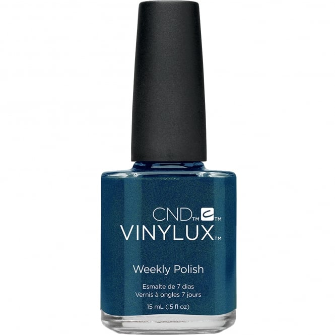 CND Vinylux Contradictions Weekly Nail Polish Colour Collection - Peacock Plume (199) 15ml